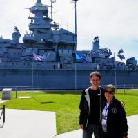 Jeff and Toni USS Alabama