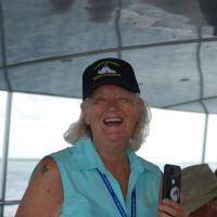 Sandy on Robbie's Marina Boat