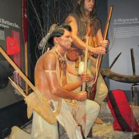 Museum at White Fish Point displays the early days of the settlement.