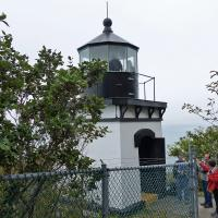 Accessing Trinidad Lighthouse was a treat since until recently it was occupied by the Coast Guard and not open to the public.
