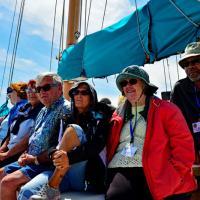Group on the Joshua Sailboat