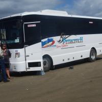 Bus Ride on 90 Mile Beach