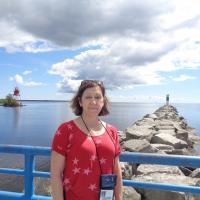 Judith and Alpena Harbor Light