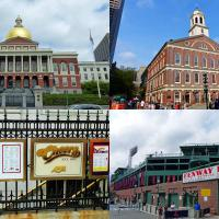 One day was hardly enough to scratch the surface of all the places to go in Boston, but the Massachusetts State House,  Faneuil Hall, Cheers (Where everybody knows your name) and Fenway Park was at least a start.