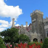 Many visited the medieval castle, Casa Loma, located on a hill above Toronto