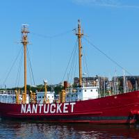 The Lightship Nantucket LV 112/WAL 534 has been restored and is now a museum located at the Boston Harbor Shipyard and Marina.