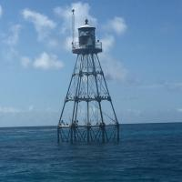 Tennessee Reef Lighthouse closer