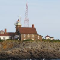 Our return to the mainland turned sunny and provided a beautiful view of Passage Island Lighthouse.