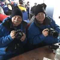 Bob and Richard on cruise
