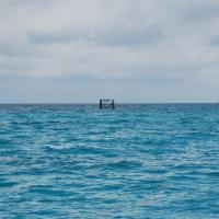 Remains of Elbow Reef Light