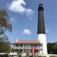 Pensacola Lighthouse from the water