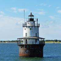 The Butler Flats Lighthouse, first lit in 1898 only has two keepers until it was turned over to the Coast Guard in 1941.