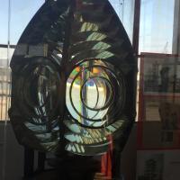 Original 4th Order Fresnel lens at Port Hueneme Lighthouse