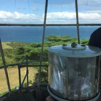 Lens at Tiritiri Matangi Lighthouse