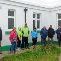 Geoff Badland from Trinity House gave us tours of Nash Point and here at Strumble Head.