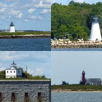 Among the lights viewed on our New Bedford cruise were Bird Island, Ned's Point,   Clark's Point and Monomoy.