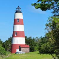 Having been lit in 1820 – the Sapelo Island lighthouse tower is 195 years old.