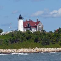 A nice view of the Nobska Lighthouse.