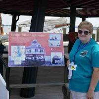 Marjie at Hooper Strait Lighthouse