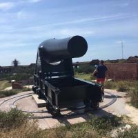 Big Gun at Fort Jefferson