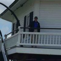 Mark at Hooper Strait Lighthouse