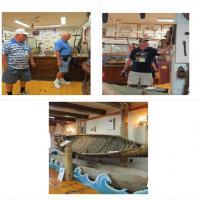 Brian, Bill and John enjoyed the museum at False Duck