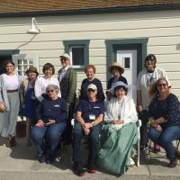 Docents at Point Fermin Lighthouse