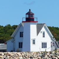 Wings Neck is one of the lighthouses that provide overnight accommodations.