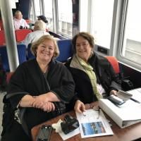 Denise and Suzanne on Cruise