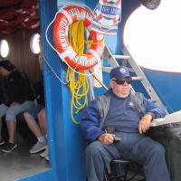 George on Lake Huron Boat Ride