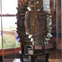 The original Fresnel Lens is on exhibit in the museum.