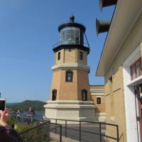 Split Rock Lighthouse and fog horns.