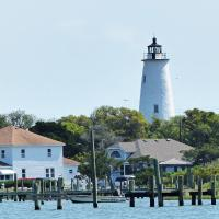 A good shot of Ocracoke from the Visitor's Center.
