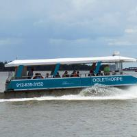 Our ride to Little Cumberland Island.