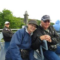 Peggy and Bill joined us on our Pictured Rocks Cruise