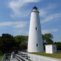 While they allowed us inside and a look up into Ocracoke Lighthouse, it was one of the very few on the tour that we did not climb.