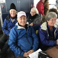 Harold, Bill, Janice and Barbara on Cruise