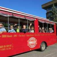 Kingston, Ontario, a UNESCO site, was visited via trolley