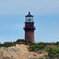 The Gay Head Lighthouse has been designated by the National Trust for Historic Preservation as one of America's 11 Most Endangered Historic Places and geological experts advise it should be moved within the next year.