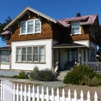 One of the keeper's houses you can rent at Point Cabrillo.