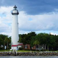 Being able to photograph St Simons Island Lighthouse from the water side was a real treat.