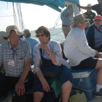 Gary and Kathleen on the Grand Nellie