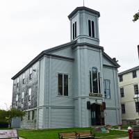 The Seamen's Bethel in New Bedford was specifically constructed for the many sailors who called New Bedford their home port (mostly whalers), who considered it a matter of tradition that one visited the chapel before setting sail. The bethel was immortalized in Herman Melville's novel Moby-Dick.
