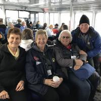 Diana, Mary, Janice and Harold Cruising