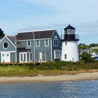 The Channel Point Lighthouse in Hyannis Harbor is a Brant Point look a like.