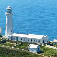 For those who waited - they would be rewarded with a spectacular view of South Stack.