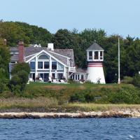 The Hyannis Harbor Lighthouse has undergone numerous changes and its new, non-traditional lantern room is only one of those alterations.
