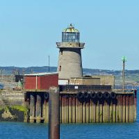 Another Holyhead light at Admiralty Pier.