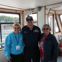 Loren joined us on our Pictured Rocks cruise.  He spoke about his efforts to restore and maintain Grand Island North as well as the history and culture of the Munising area.