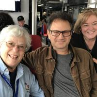 Joan, Jeff and Denise Cruising